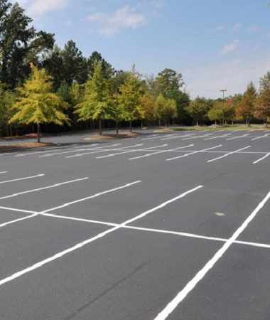 Parking Lot Striping and Pavement Marking